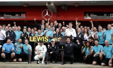 Mercedes zůstává skromný, ne jako Ferrari