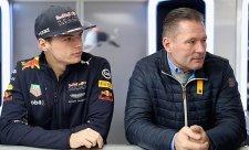 Verstappen senior už není skautem Red Bullu