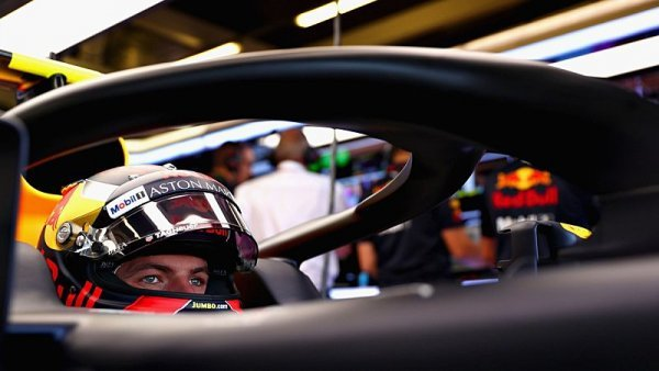 Verstappen havaroval a přišel o druhý trénink