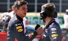 Verstappen vyhrál s omezeným výkonem