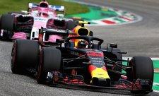 Ricciardo se vyzbrojil minimálním přítlakem
