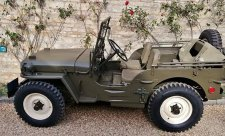 Armádní Jeep Willis filmové hvězdy na prodej