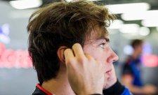 Toro Rosso začíná zaostávat, varuje Gasly