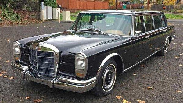 Vzácný Mercedes-Benz 600 Pullman je na prodej