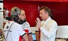 Räikkönen se těší na čisté závodění