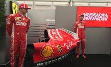 Ferrari ukázalo nové lakování