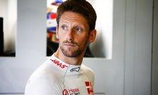 Grosjeanovi prý Sainz nenechal v zatáčce místo