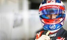 Grosjeanovi se auto ovládá mnohem líp