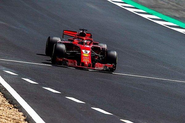 Bitvu o Británii vyhrál německý stíhač Vettel