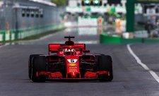 Vettel už v pohodě, Räikkönen opět mimo
