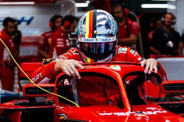 Vettel se uprostřed kvalifikace neshodl s týmem