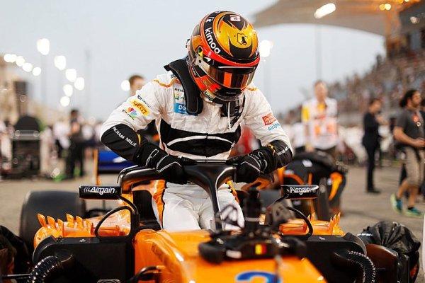 Vandoorne není připravený odejít z McLarenu