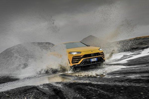Lamborghini na Islandu