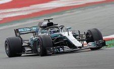 Mercedes znovu před Ferrari