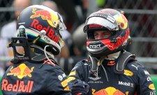 Verstappen již byl evidentně lepší než Ricciardo