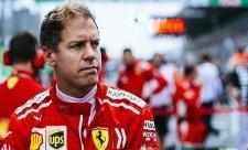 Vettela zpomalil vadný senzor
