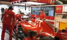 Ferrari zahodilo více než dva měsíce vývoje