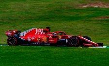 V generálce se prosadil Vettel
