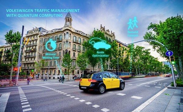 Volkswagen a inteligentní řízení dopravy