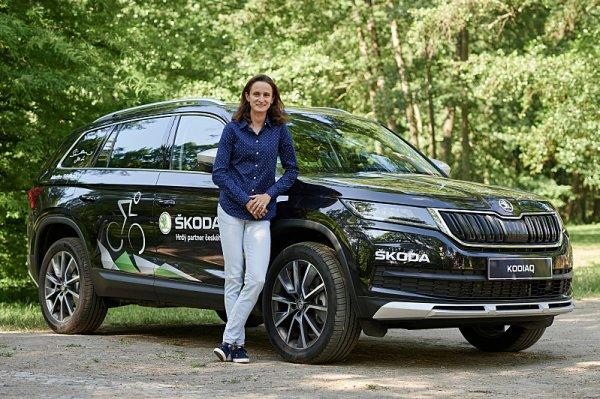 Škoda Kodiaq Scout pro Sáblíkovou