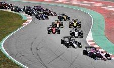 Doprovodné série kopírují F1
