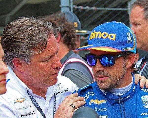 Alonso vyloučil, že by jel příští rok celou sezonu IndyCar