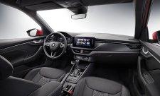 První fotografie interiéru vozu Škoda Kamiq