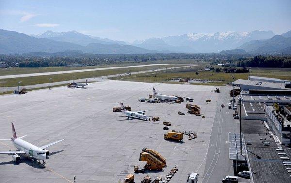 Salcburské letiště je do konce května uzavřené