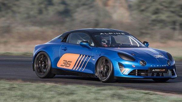Alpine láká na ostřejší verzi modelu A110
