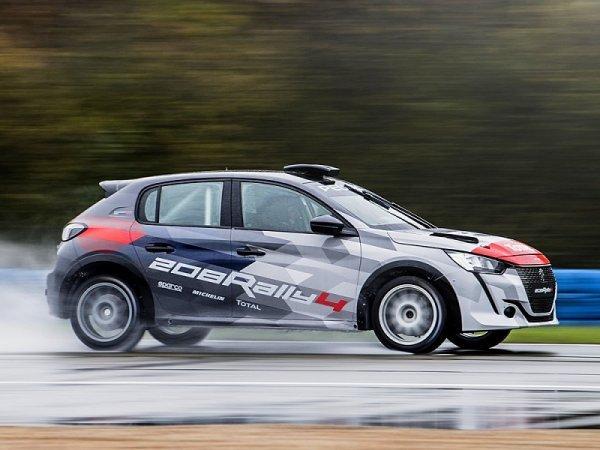 Peugeot Sport představil nový 208 Rally 4