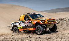 Prokop jede na Dakaru už na sedmém místě