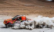 Prokop uhájil na Dakaru šesté místo