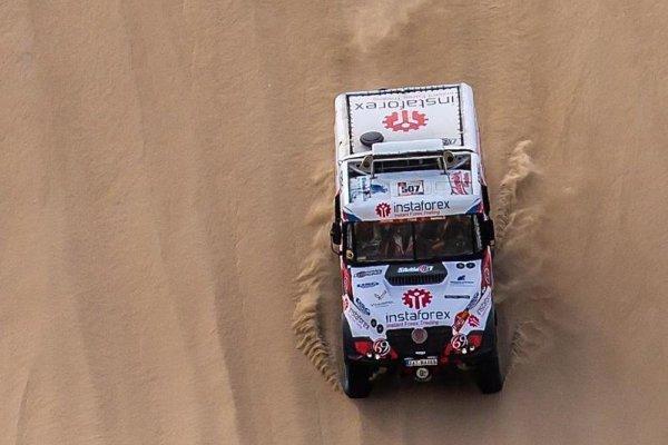 Z Čechů je na Dakaru zatím nejlepší Loprais