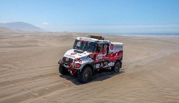 Loprais má za sebou svůj nejtěžší Dakar