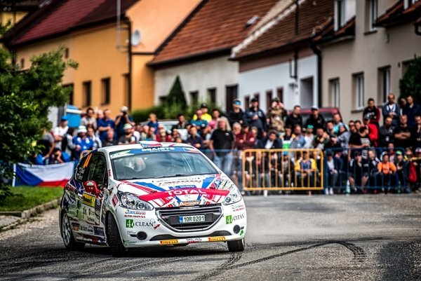 Peugeot Rally Cup ovládl Dohnal