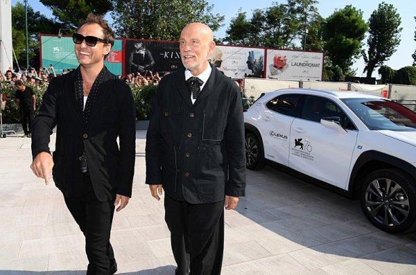 Lexus vozil VIP hosty benátského festivalu