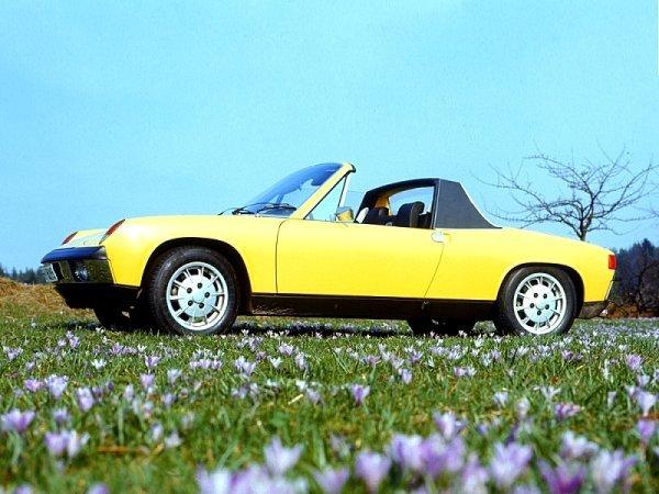 50 let od uvedení VW Porsche 914