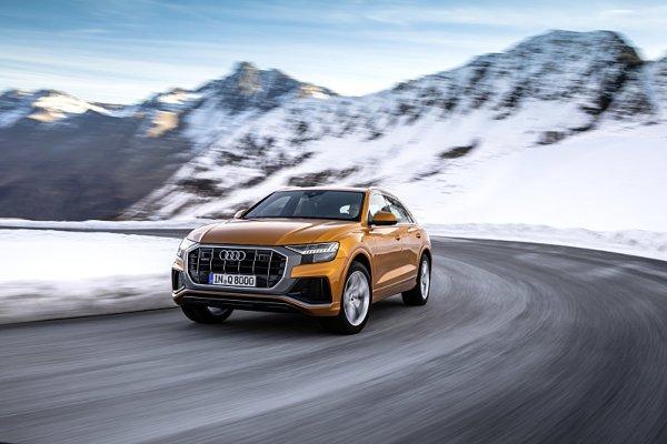 Nové motory pro SUV Audi Q8