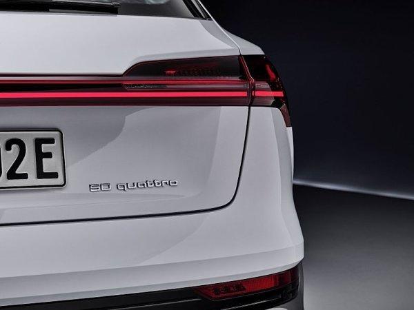 Elektromobil Audi e-tron ve verzi 50 quattro
