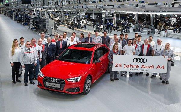 Audi A4 je právě pětadvacet let