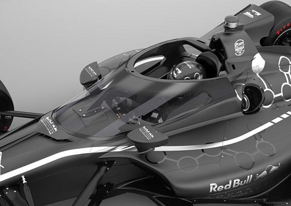 IndyCar od příští sezony s novou ochranou hlavy jezdce