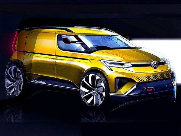 První kresby nového Volkswagenu Caddy