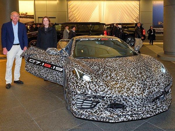 Corvette C8 provokovala v ulicích New Yorku