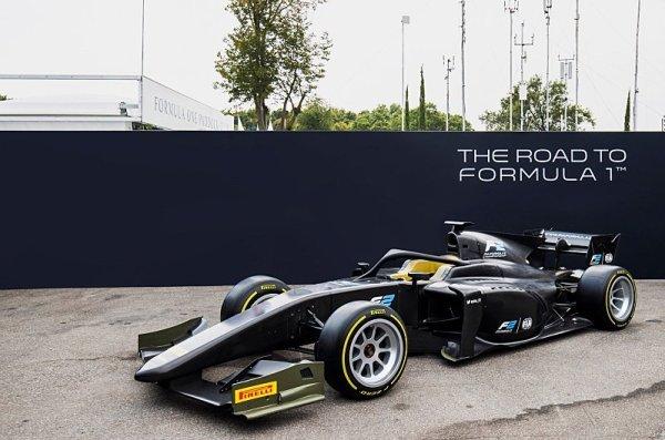 Formule 2 v roli pokusného králíka