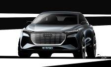Audi odtajnilo koncept elektrického SUV