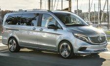 Mercedes-Benz Concept EQV jezdil v Barceloně