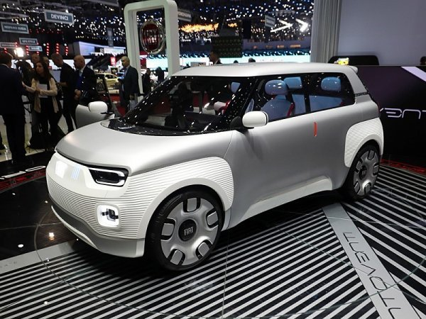 Fiat Concept Centoventi si dostavíte sami