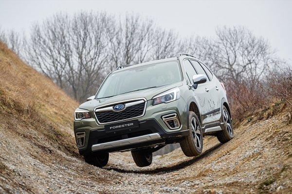 Subaru představilo hybridní pohon e-Boxer