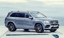 Luxusní SUV se značkou Mercedes-Benz