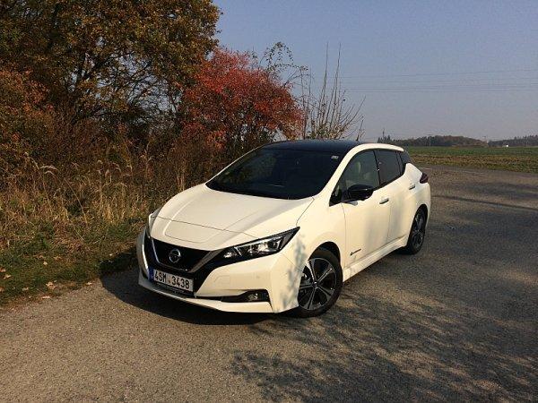 Test Nissanu Leaf Tekna 40kWh